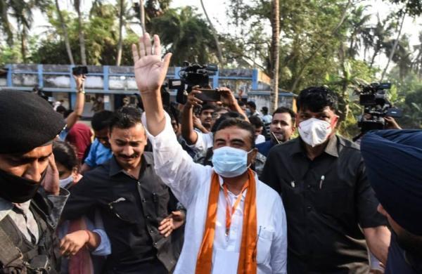 Bengal polls: Mamata will lose at Nandigram, claims Suvendu after casting vote