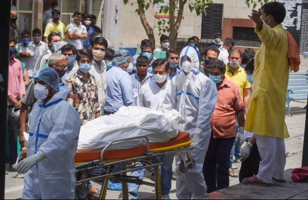 COVID-19: India logs record 1,761 fatalities, 2,59,170 fresh cases take active infections over 20 lakh mark