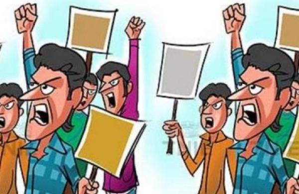 Chhattisgarh Congress MLA faces wrath of villagers during public hearing for sponge iron plant