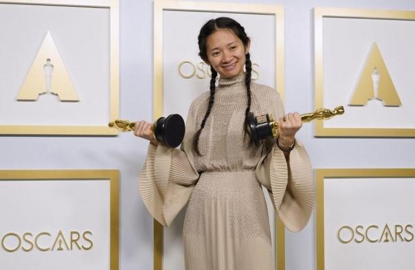 China censors Oscars success of history-making director Chloe Zhao
