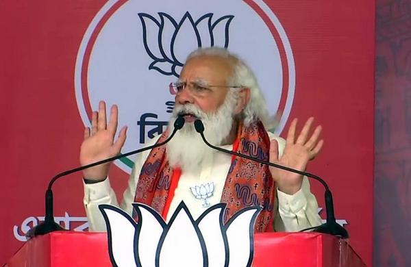 Congress criticises PM Modi foraddressing election rallies instead of cordinating pandemic control