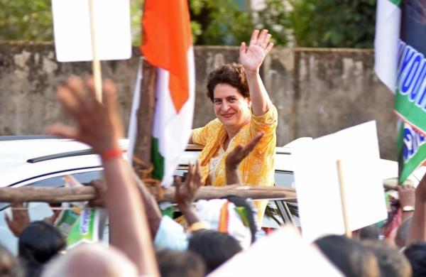 Congress leader Priyanka Gandhi Vadra cancels Assam pollcampaign due to 'exposure to coronavirus'