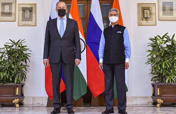 EAM Jaishankar, Russian foreign minister Lavrov hold talks