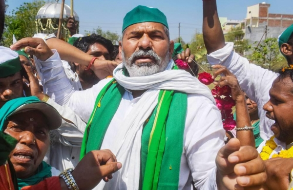 'Farmer unions ready to discuss agri laws with Centre but it has to be about repealing those': Tikait