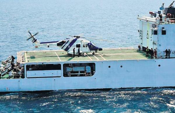HAL's Dhruv Mk III MR registers success in deck operations