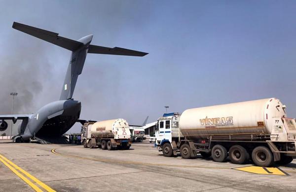 IAF presses its heavy and medium lift fleet into round-the-clock Covid duty