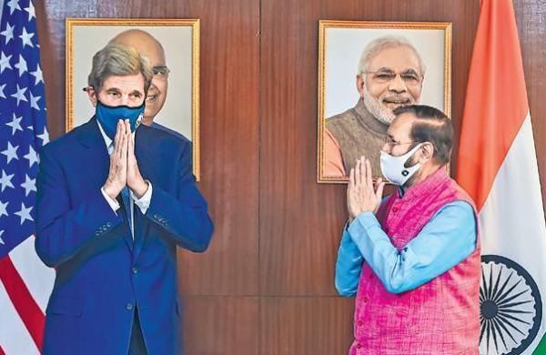 India getting job done on climate, lauds John Kerry