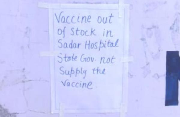 Jharkhand heading towards vaccine shortage, restriction on administering first Covaxin shot
