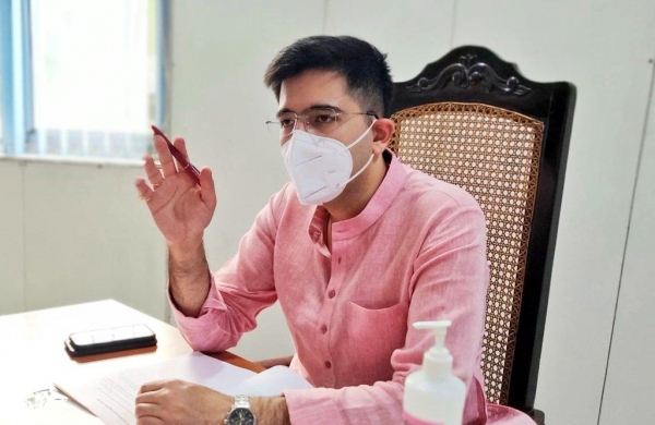 Leave election management, focus on COVID crisis: AAP's Raghav Chadha to PM Modi