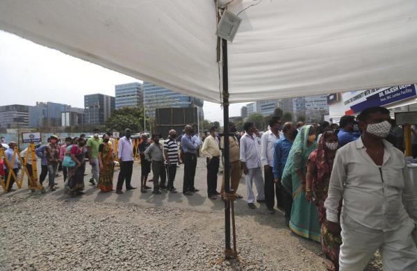 Maharashtra records 56,286 new COVIDcases; state faces severe vaccine, remdesivir shortage