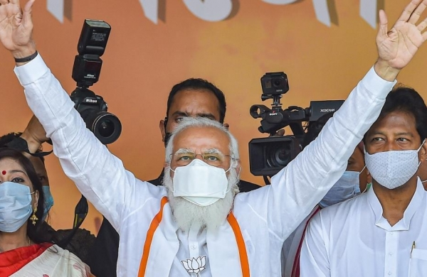 Mamata heaping abuse on me as she is frustrated over TMC's impending defeat, saysPM Modi