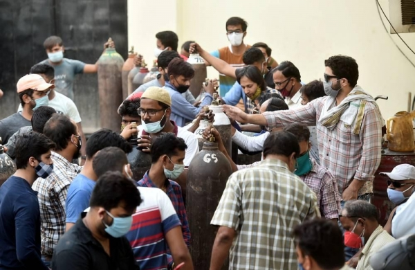 Over 3.14 lakhCOVIDcases in India, highest-ever recorded in any country;2,104 succumb to the virus