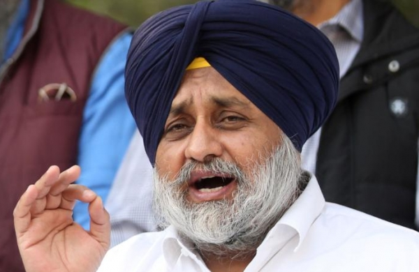 SAD president Sukhbir Singh Badal andothers booked for violating COVID-19 guidelines
