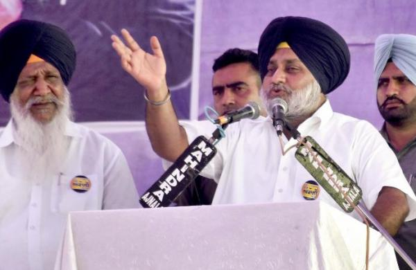 Scam-tainted Congress leaders will be taken to task once SAD comes to power: Sukhbir Singh Badal
