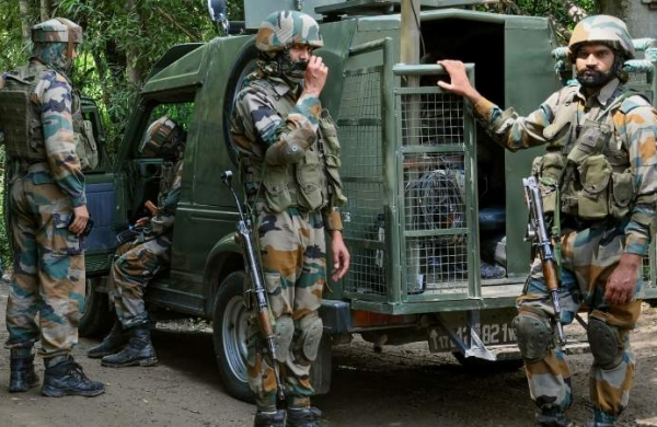 Security forces recover arms, ammunition during searches in Jammu and Kashmir's Budgam