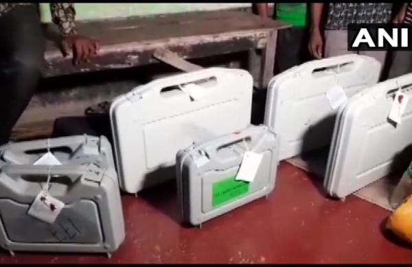 West Bengal polls: EVMs and VVPATs found at Trinamool Congress leader's home, official suspended