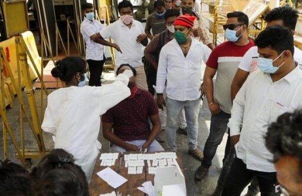With over one lakh new infections, COVID-19 cases reach record high in India