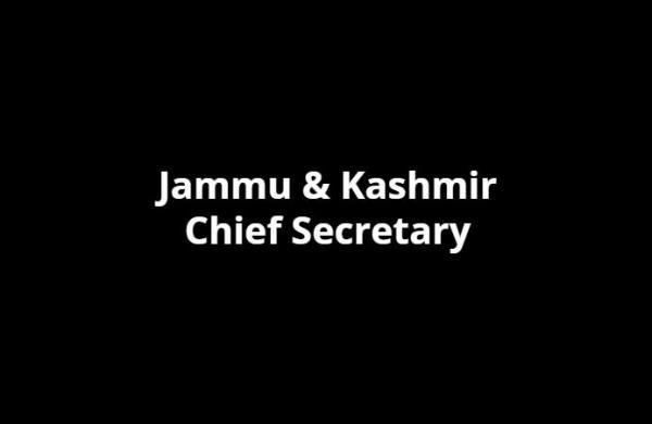 AK Mehta to be new chief secretary of Jammu and Kashmir