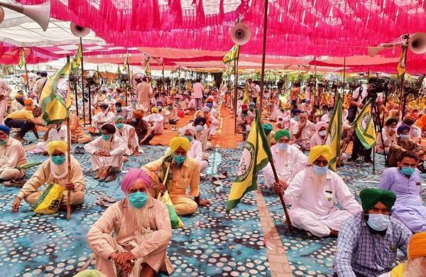 BKU-Ekta Ugrahan begins three-day protest against Punjab government's handling of Covid-19