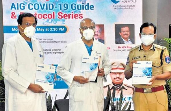 Covid-19 patient guideline issued by Hyderabad-based AIG Hospitals