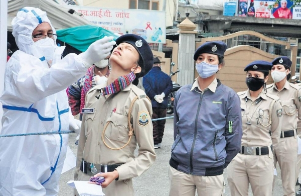 Covid Warriors: 12 per cent of police force afflicted with virus in line of duty in Jharkhand