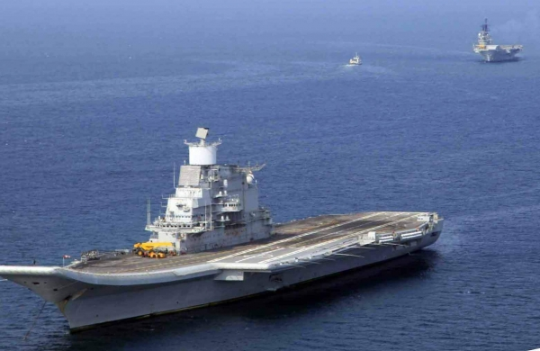 Fire on board INS Vikramaditya,all personnel safe: Navy