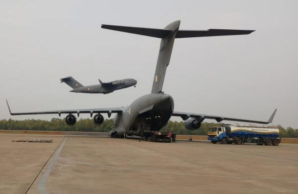 Indian Air Force presses 50 transport aircraft and 20 helicopters in COVID pandemic duty