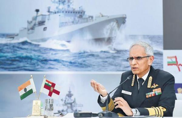 Navy has offered help to all state admins in fighting Covid: Chief Admiral Karambir Singh to PM Modi