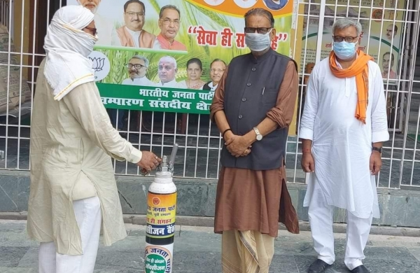 Oxygen bank set up by former Union AgricultureMinister saves life of 272 Covid patients in Bihar