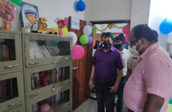 Patna: Girls are encouraged to develop reading habit in govt run homes