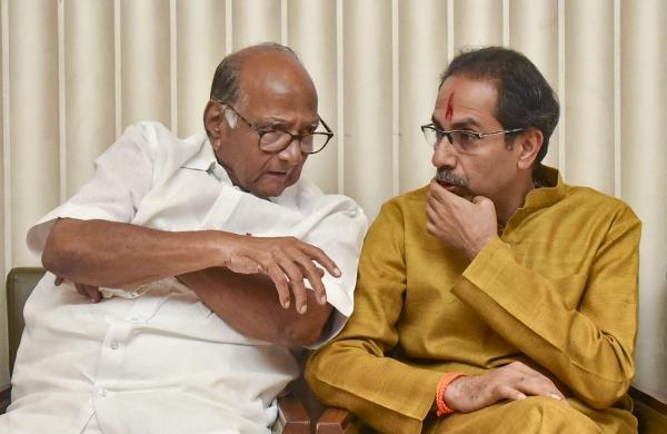 Sharad Pawar meets Maharashtra CM; discusses political, COVID-19 situation