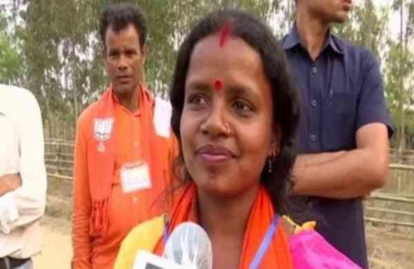 West Bengal Assembly polls: BJP candidateChandana Bauri, wife of daily wage labourer, wins Saltora
