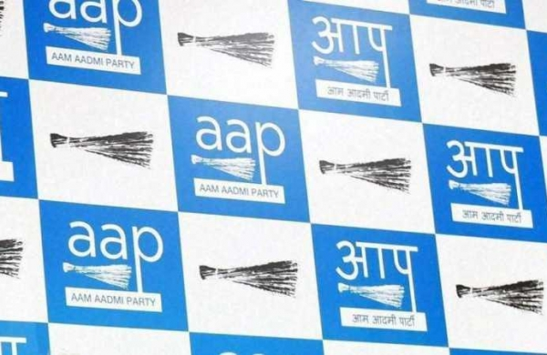 AAP holds protest against Punjabgovt's move to give jobs to 2 Congress MLA's sons