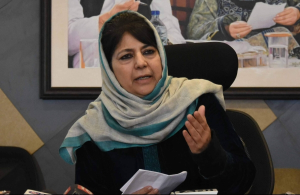 Administrative apathy fatal than Covid pandemic:Mehbooba Mufti hits out at BJP-led centre