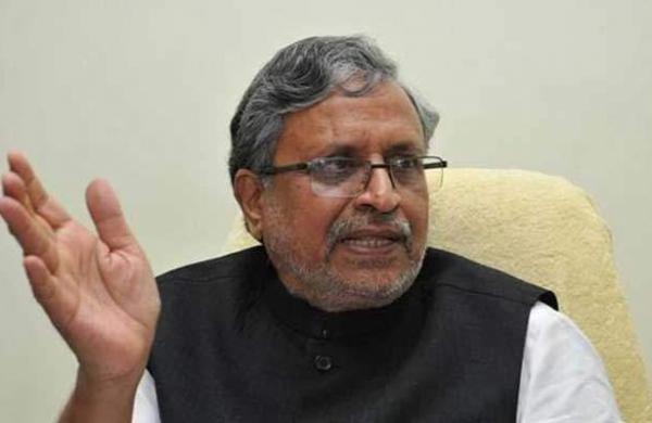 BJP leader Sushil Modi suggests levying 0.1 per cent CGST, SGST on COVID-19vaccines