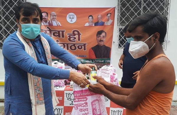 Bihar BJP conducts welfare activities, celebrates seven years of Modi government