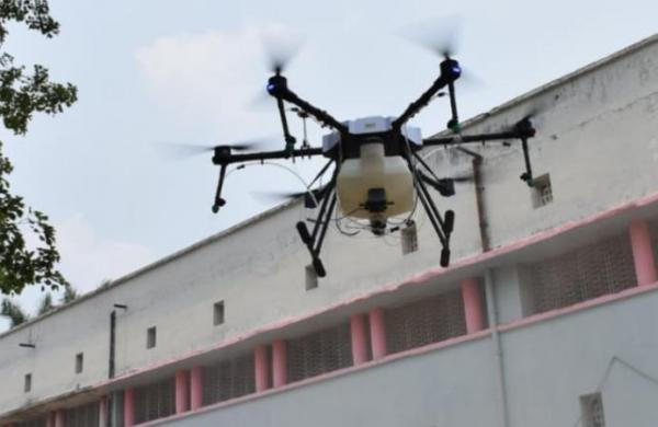 COVID-19: In a first, drones being used for sanitization by BCCL in Dhanbad