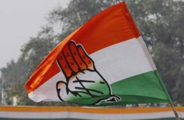 Congress workers celebrate transfer of IAS officer in Chhattisgarh