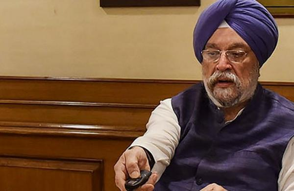 Covid-vaccines thrown away in Rajasthan, Punjab profiteering:Union Minister Hardeep Singh Puri hits out at Congress