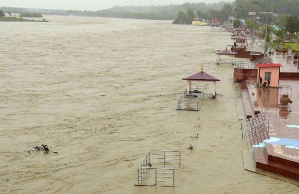 Ganga, Bhagirathi rivers cross danger mark in Uttarakhand after incessant rains