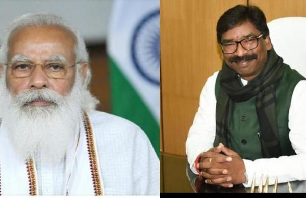 Hemant Soren writes to PM Modi, demands free Covid vaccine for all in Jharkhand