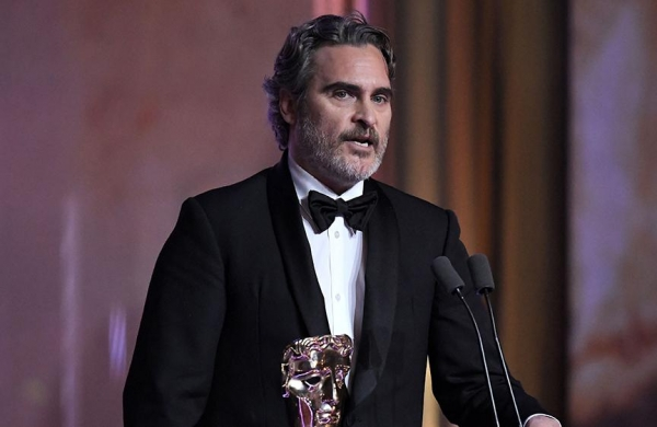 Joaquin Phoenix says he won't force son River to be vegan