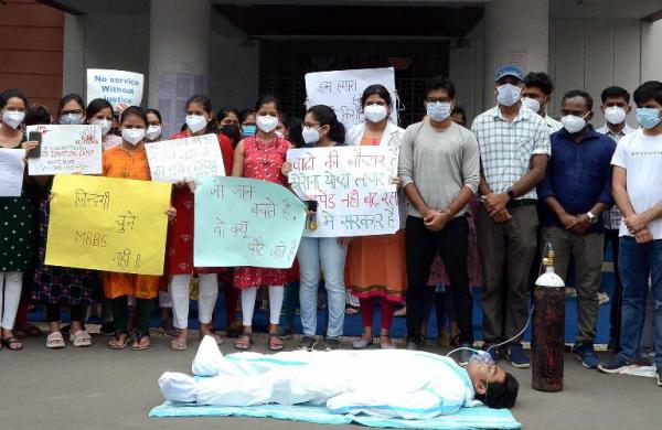 Madhya Pradesh doctors' strike entersseventh day,talks with state government yield no result