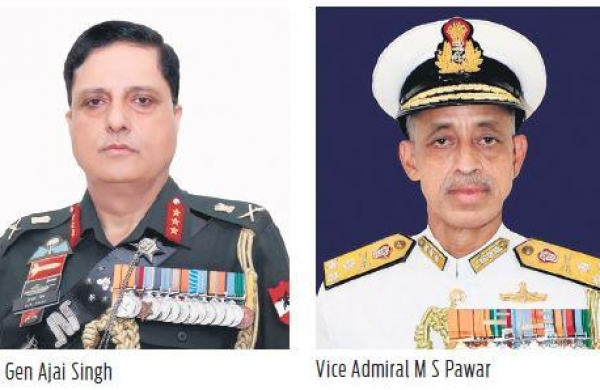 Major reshuffle at higher echelons of Indian armed forces