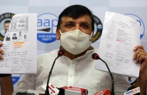 No action on Ram Temple 'scam', BJP with property dealers: AAP MP Sanjay Singh