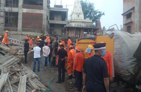 Old building in Kashi Vishwanath Corridor collapses, 2 labourers killed