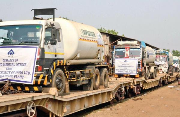 Oxygen Express crosses milestone of delivering 25,000 tonnes of medical oxygen to states/UTs: Railways