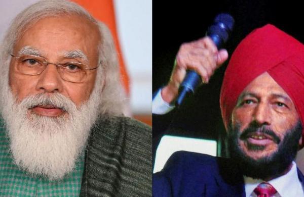 PM Modi speaks to ailing sprint legendMilkha Singh, enquires about his health