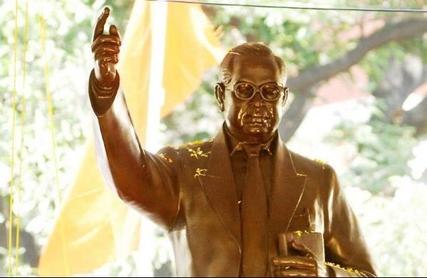 Statue of Ambedkar found vandalised in Utttar Pradesh