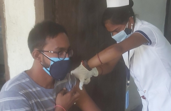 Vaccination for 18-44age group falls by over 50 per cent within one week in Bihar as shortage rises